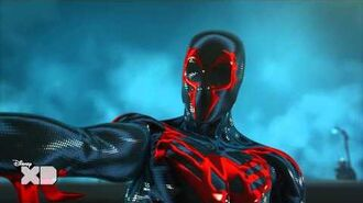 Ultimate Spider-Man Web Warriors - Spider-Man 2099 - Official Disney XD UK HD