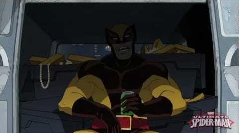 Ultimate Spider-Man Behind-the-Scenes With Wolverine