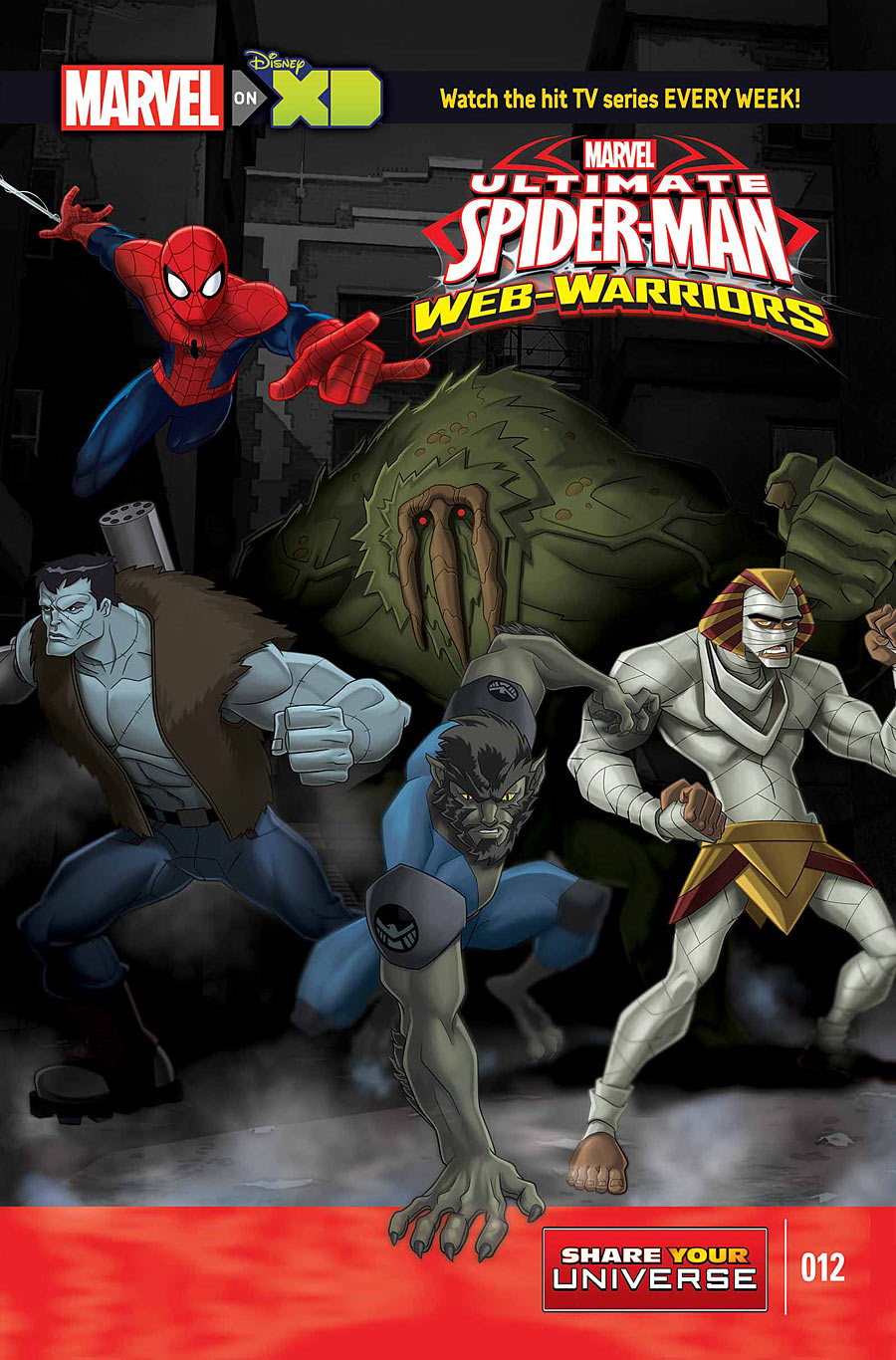 Marvel Universe: Ultimate Spider-Man: Web-Warriors - The Howling ...