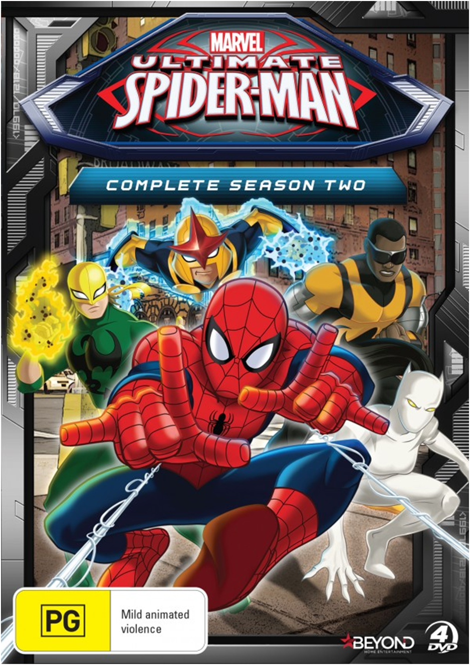 ultimate spider man complete season two ultimate spider man