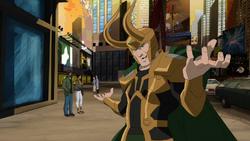Loki runpig run