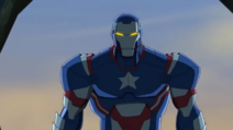 Iron Patriot in S.H.I.E.L.D.'s Academy