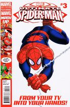 Ultimate Spider-Man Issue 3 Cover