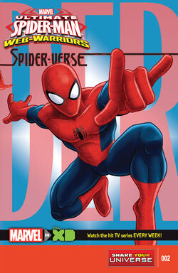 The Spider-Verse (Part 2) Cover