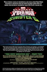 The New Sinister Six (Part 2) (Issue 11) Preview Page 1