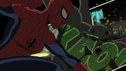 Spider-Girl hits Goblin USMWW