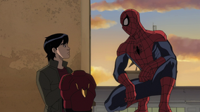 Amadeus Cho and Spider-Man