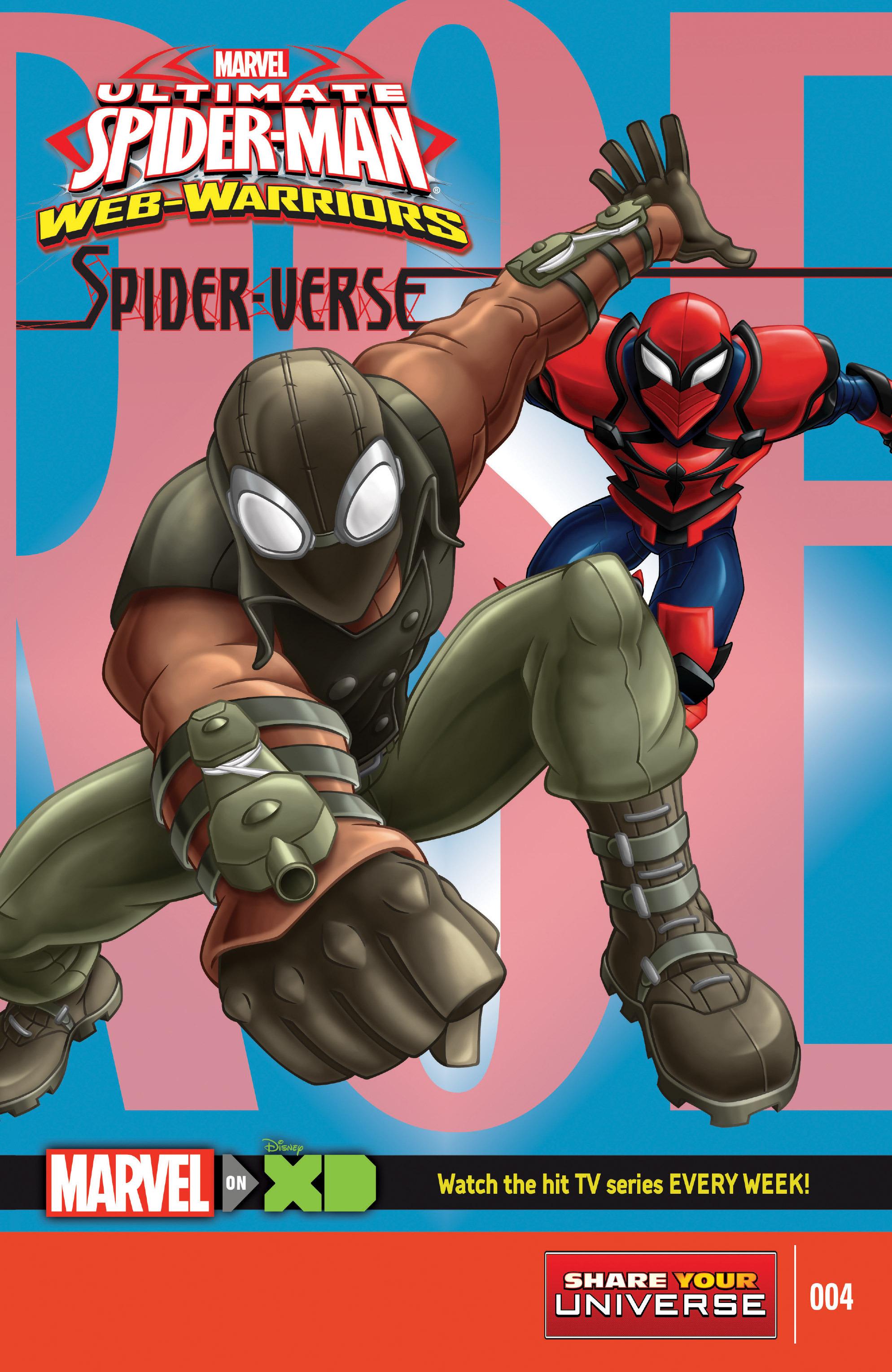 Marvel Universe: Ultimate Spider-Man: Web-Warriors - Spider-Verse ...