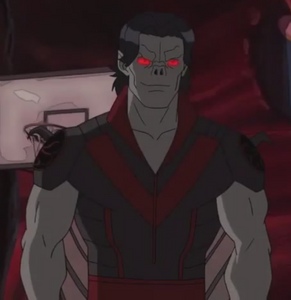 Michael Morbius (Earth-12041) from Ultimate Spider-Man (Animated Series) Season 4 15