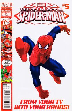 Ultimate Spider-Man Issue 5 Cover