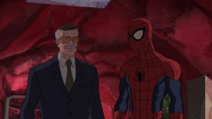 Spider-Man speaks to Stan