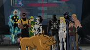 Spider-Man's Old Team and New Team together USMWW