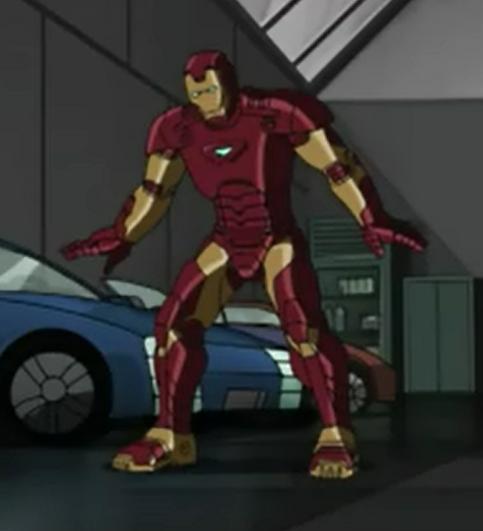 Marvel Anime Iron Man Promo