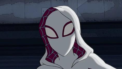 spidergwen ultimate spiderman animated series wiki
