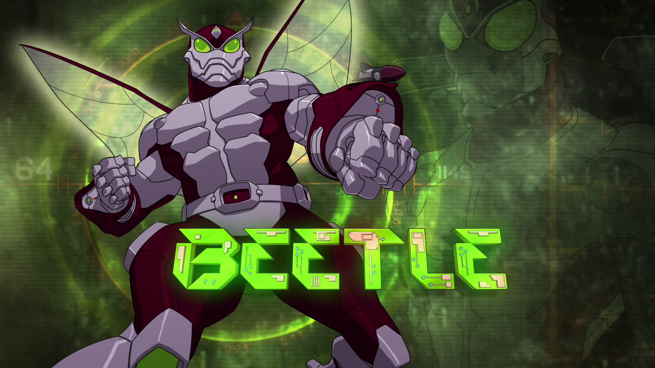 beetlegallery ultimate spiderman animated series wiki