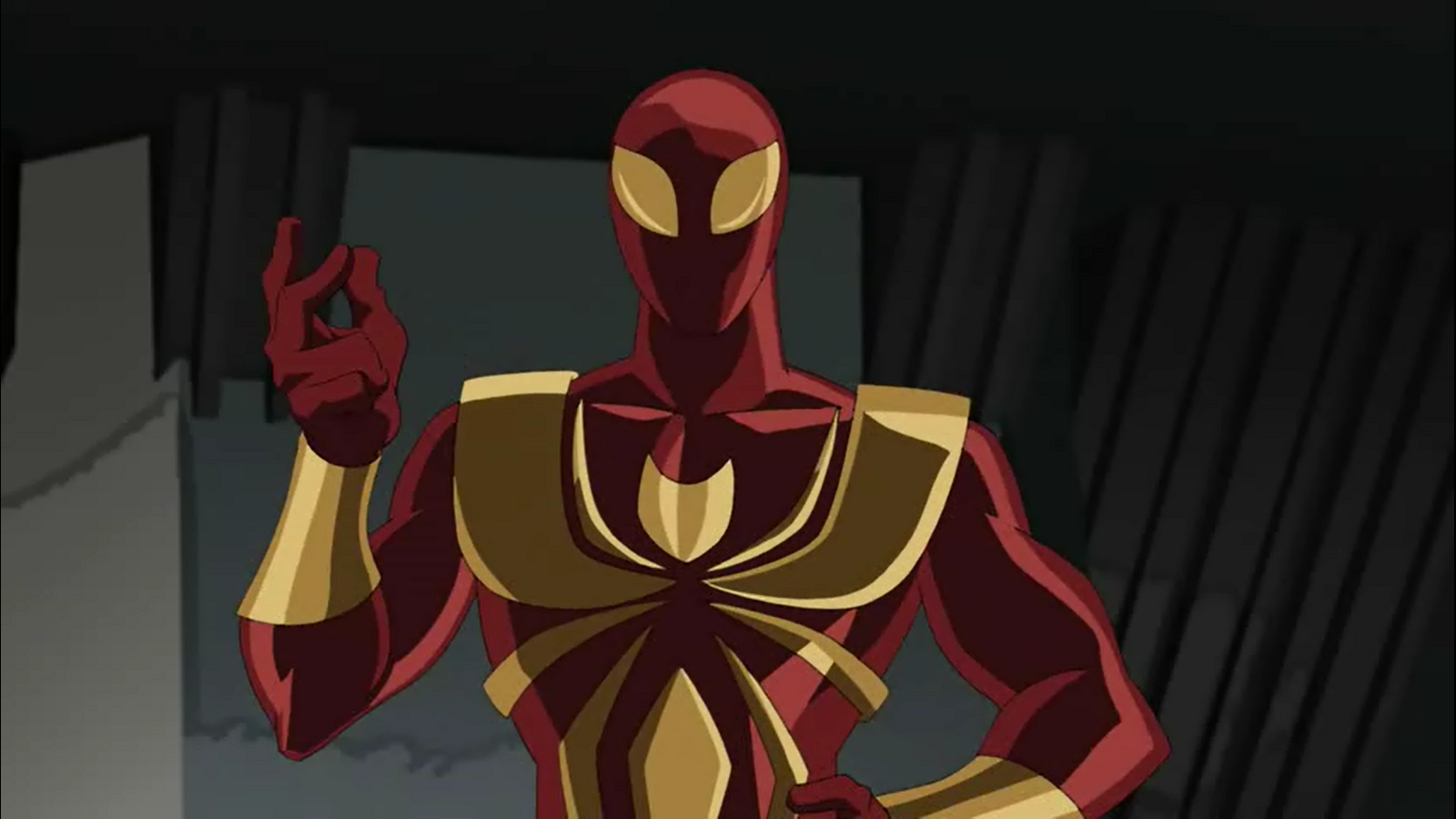 Image iron spider ultimate spider man - Tigre blanc marvel ...
