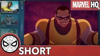 S.H.I.E.L.D. Report Powerman Fury Files - Powerman aka Luke Cage