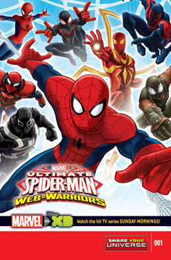 MarvelUniverseUltimateSpider-ManWebWarriorsPromotional-cover