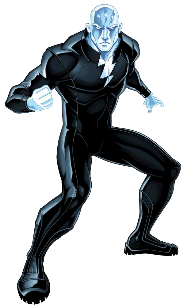 Электро из марвел картинки