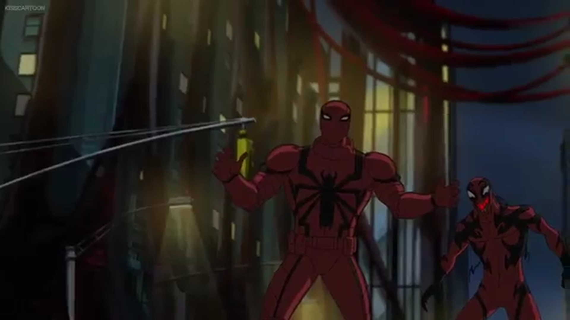 image carnage agent venom png ultimate spider man animated