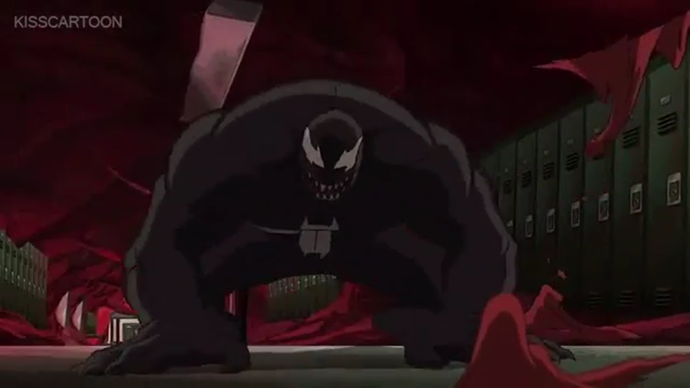 venom (mass-produced version) | ultimate spider-man animated series