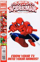 Ultimate Spider-Man Issue 4 Cover