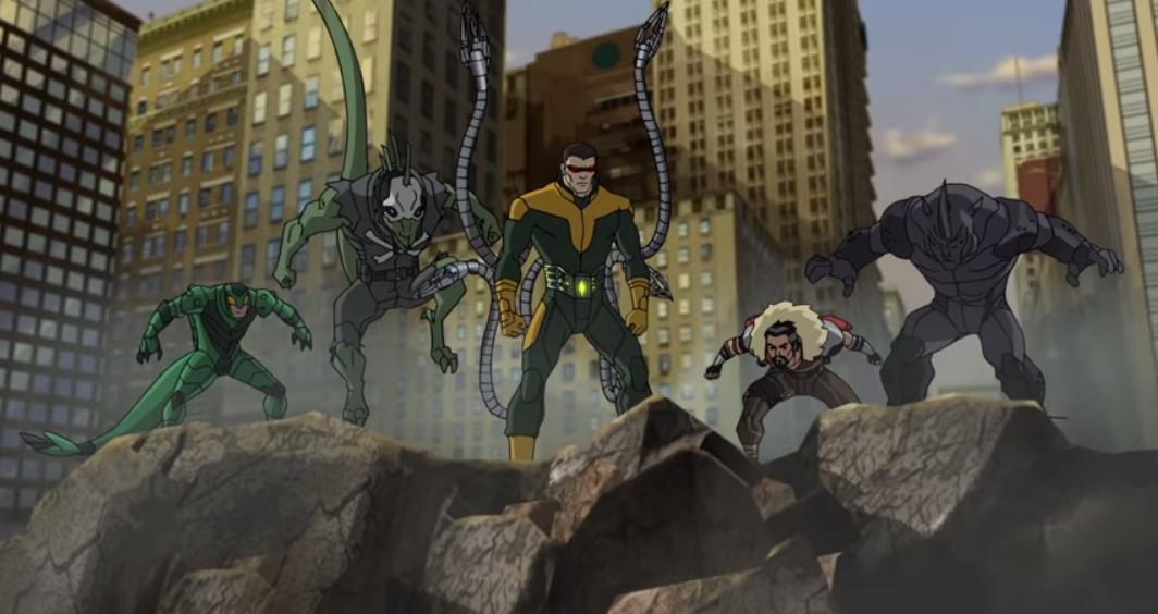 superior sinister six ultimate spiderman animated