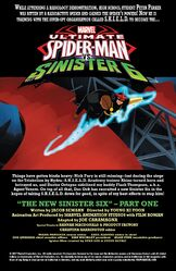 The New Sinister Six (Part 1) (Issue 10) Preview Page 1