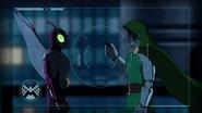 Beetle with Dr. Doom