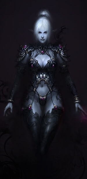 Dark Elf by agnidevi