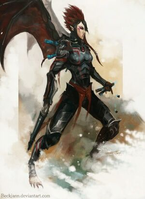 Dark eldar scourge by beckjann-d4lvpiu