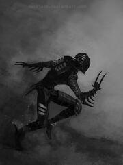 Dark eldar wych with hydra gauntlets 2 by beckjann-d4rdwxa