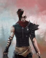 Dark eldar wych by beckjann-d2zzxsk