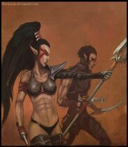 Dark eldar lelith hesperax by beckjann-d4jkhor