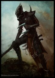 Dark eldar kabalite warrior by beckjann-d4dbo9p