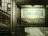 Fulton St. Subway Station