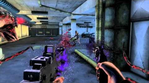 The Darkness II Darkness Powers Gun Channeling