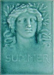 Low Art Tile - Seasons - Summer