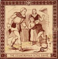 The Countryman and the Snake