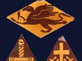 Glazed Encaustic Masonic Tiles - Maw & Co