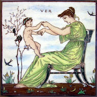 Times of Day - Ver - Walter Crane - Maw & Co