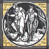 Sodom and Gomorrah Destroyed by Fire - Minton China Works