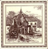 Ruins of Hougomont, Belgium 8in