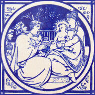 The Wise Men from the East - J Moyr Smith - Minton China Works