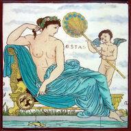 Times of Day - Aestas - Walter Crane - Maw & Co