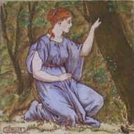 Hermia Wedgwood Tile
