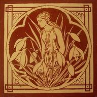 Spirits of the Flowers - Snowdrop - J Moyr Smith - Minton China Works