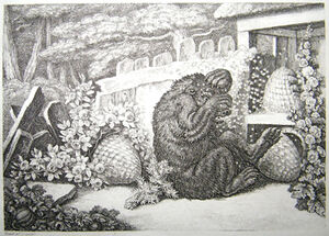 3. Bear and the Beehives