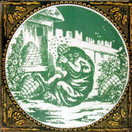 Aesops Fables - The Bear and The Beehives - Minton Hollins
