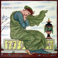 Times of Day - Hiems - Walter Crane - Maw & Co